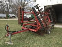 Case-IH 496 Disk, 24', 7 1/2 Spacing, Harlan Rear Hitch