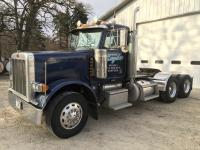 2001 Peterbilt 379 Semi-Truck, C15 Engine, S/N 6N232201, 475 hp, 13 sp, Air Ride, Wet Kit, split fuel tank, 808,980 miles, One Owner