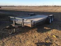 2008 Progressive 7'x16' Trailer w/2' beaver tail