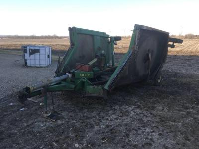 JD 1517 Batwing Mower 15'