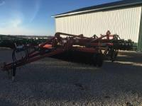 2011 Krause 4850 Dominator Disc Ripper, 9 shank, disc  levelers, rolling baskets, SN 3281