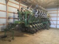 2012 JD 1790 CCS delivery 16 Planter, twin hoppers, pneumatic down pressure, no till, vacuum, seed firmers, ground driven, Yetter trash wheels, 300 gal. liquid fert. tank, ProMax 40 corn & bean discs, S/N: A01790C730268;