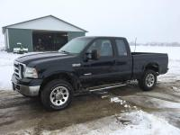 2005 Ford F-250, 4x4 pick up truck, Lariat, ext. cab, 210,000 miles
