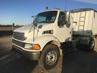 2005 Sterling Acterra Semi Truck, day cab, automatic, Mercedes Benz diesel, single axle, air ride, 230,747 miles