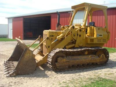 1980 Cat 955L crawler loader, 10,965 hrs., 3204 Cat, S/N 13X1743