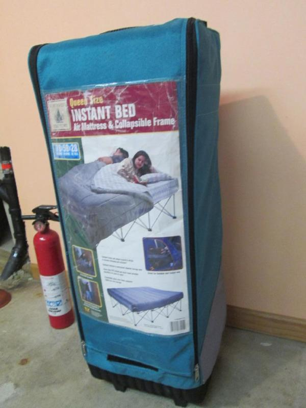 Northwest Territory Queen size instant bed air mattress and