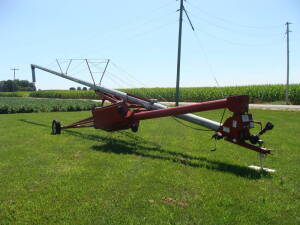 Mayrath 65 x 8 auger, swing away hopper, pto