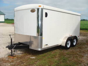 2010 Royal Cargo trailer, 7 x 14, ramp & side doors