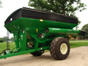 2008 Bent 1080 Grain Cart, Unverferth 410 scale w/printer, roll tarp, 35.5L-32 (1 owner)