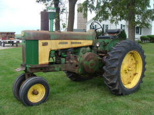 JD 730, gas, NF, PS, pto, S/N 7314422