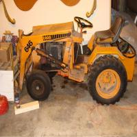 1974 Case 646 Loader w/forks,     S/N 9698856