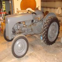 1941 Ford Ferguson, frame up restoration, S/N