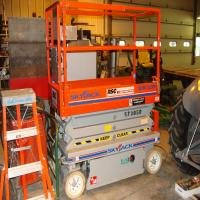 SkyJack SJ111, electric, scissor lift, 20', like new