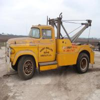 "1959 Dodge 700 Tow Truck, 354 engine, ""Phillips Garage Hinckley, IL"""