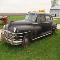 1948 Chrysler Windsor Limo w/suicide doors, All Original