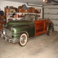 1948 Chrysler Town & Country , Woody Convertible