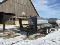 2012 Fabrique goose neck trailer 6.5' x 16', 13,000 lbs