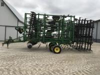 "2013 JD 2310 Soil Finisher 45' 9"", 10"" Perma Loc sweeps, front gauge wheels, rear hitch, lights, 6 bar spike tooth drag, S/N: 1N02310XVC0750238"