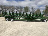 "2014 JD 612CStalkmaster chopping corn head, 12R-30"", row sense, 1000 acres on opposed knife rows, NDY stalk stompers, S/N: 1H00612CCEC766036"