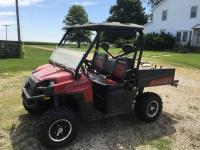 2011 Polaris Ranger XP 4x4, 800 EFI, PS, 1112 miles, 99 hrs, manual lift