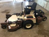"Grasshopper 718K Lawn Mower, 505 hrs., gas, 52"" deck"