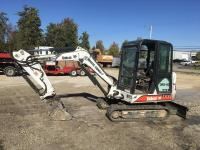 "2002 Bobcat 331E Mini Excavator, 2288 hrs., Extend-A-Hoe, AC/Heat, blade, 12.5"" tracks,"