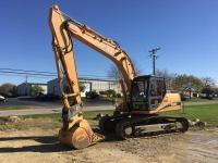 "2007Case CX160 Crawler Excavator, 691 actual hrs., hyd. quick coupler, 24"" tracks, cab w/AC & heat,"